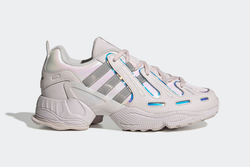 Adidas chunky dad sneakers sparkly