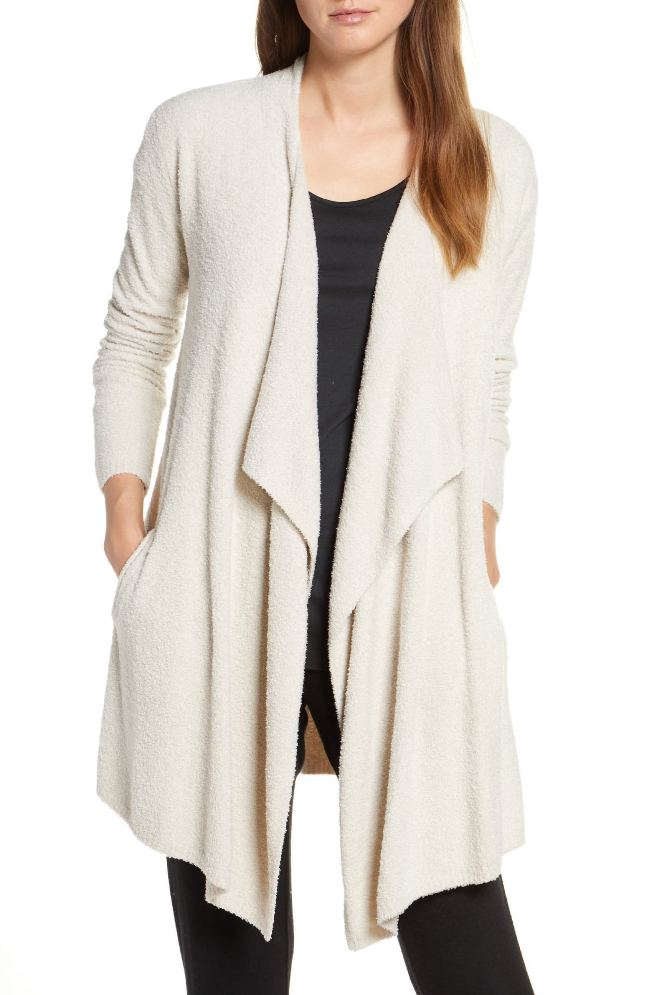 nordstrom cozy cardigan, work from home clothes