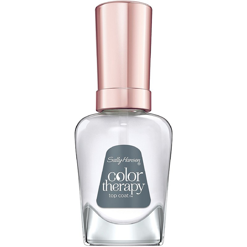 sally hansen color therapy top coat how to paint nails