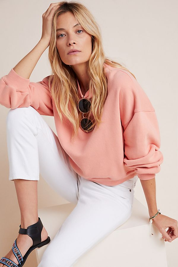 anthropologie sweatshirt sale, work from home clothes