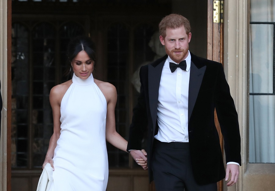 harry and meghan markle wedding reception at windsor castle