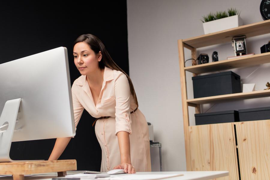work from home, wfh, standing desk, laptop desk, lap desk