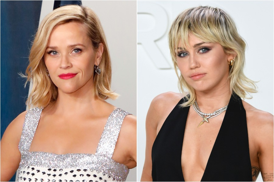 reese witherspoon and miley cyrus