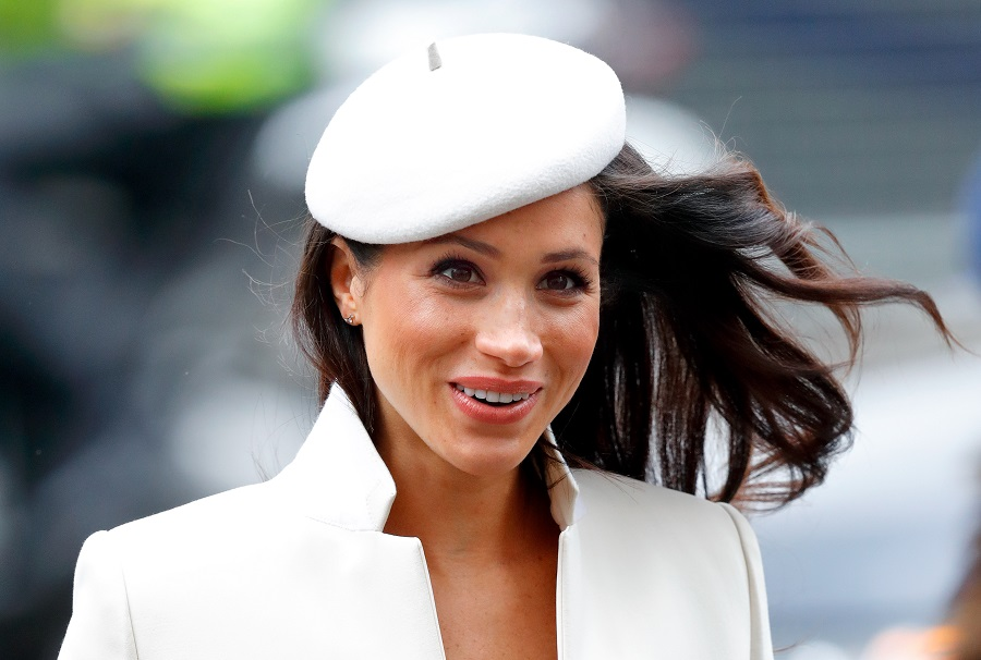meghan markle at the commonwealth day services