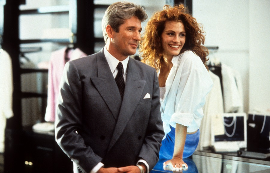 pretty woman with julia roberts and richard gere