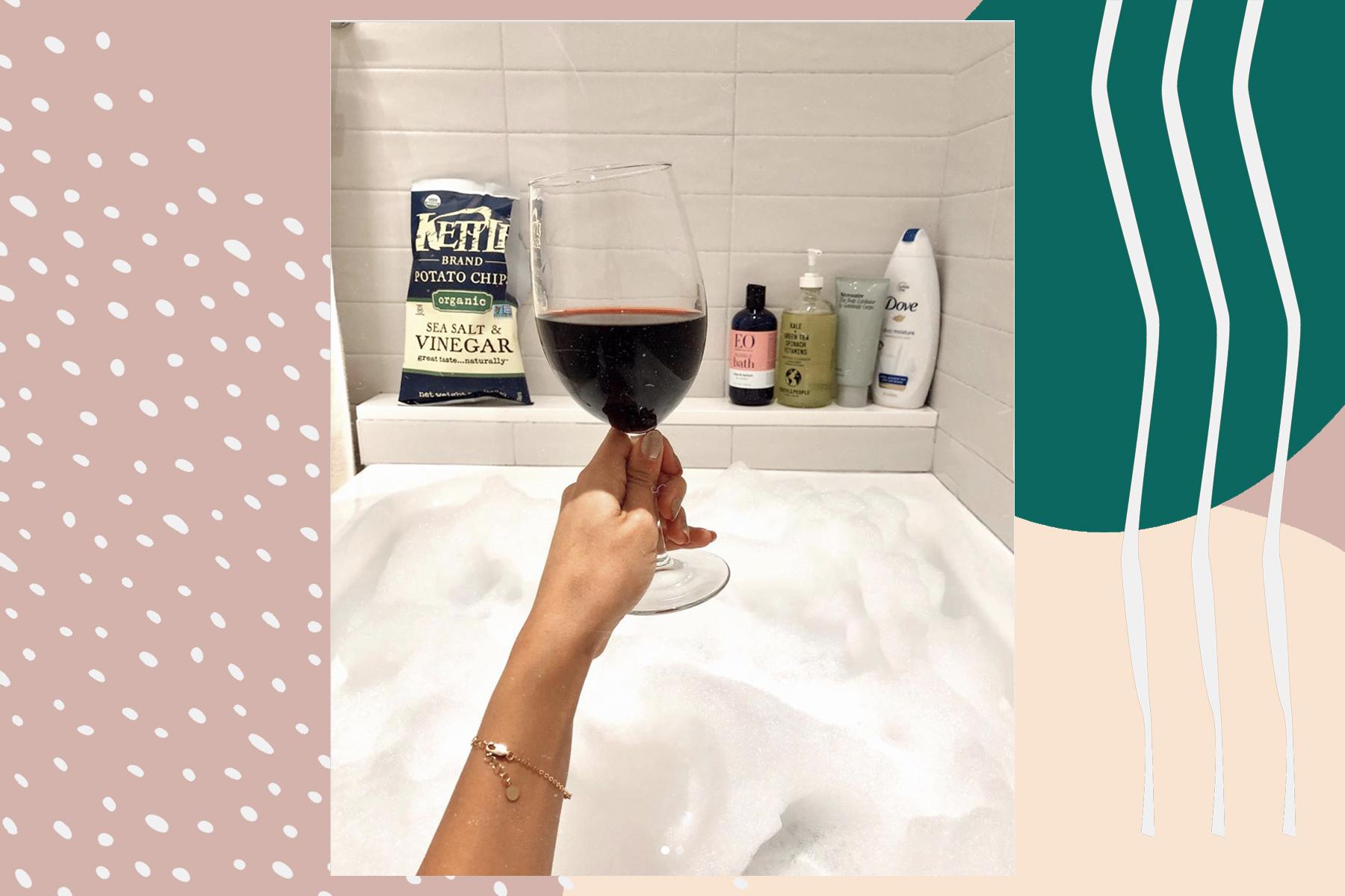 beauty editor bubble bath