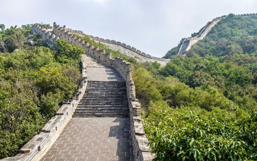 Great Wall of China Virtual Hike coronavirus