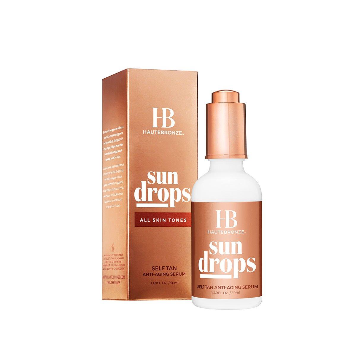haute bronze self tanner anti aging