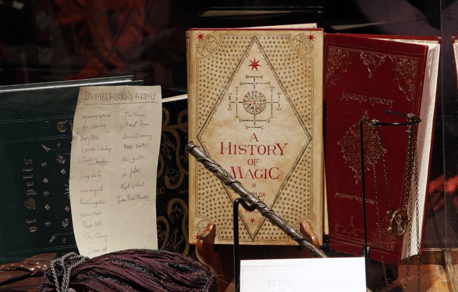 Harry Potter history of magic exhibit virtual tour