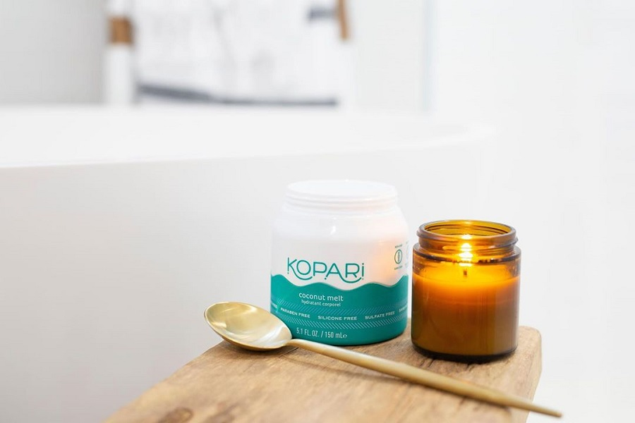 nordstrom spring sale, kopari lotion with candle