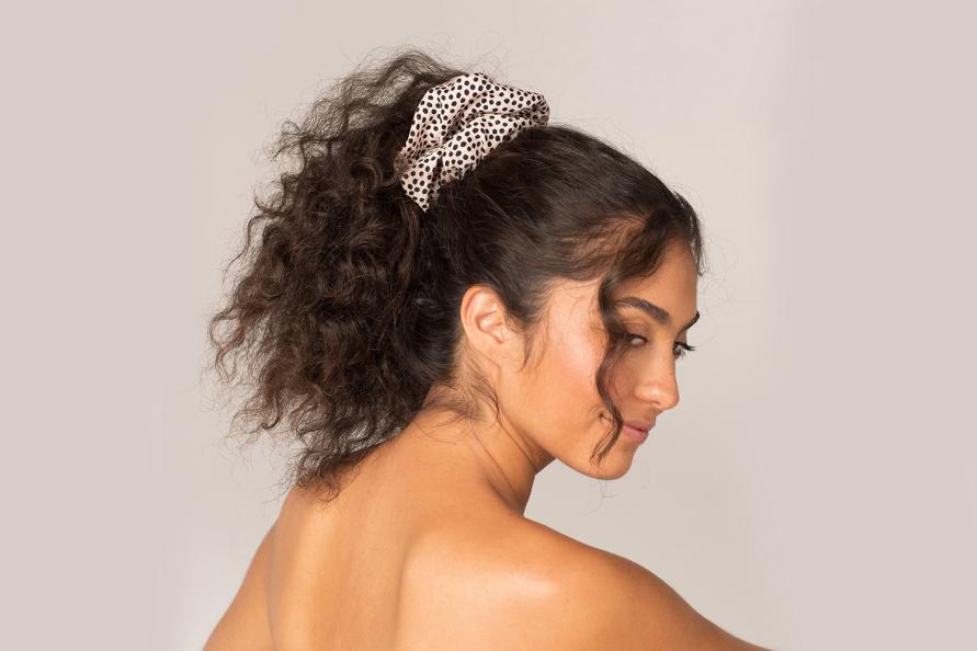 big scrunchies Sephora polka dot scrunchie