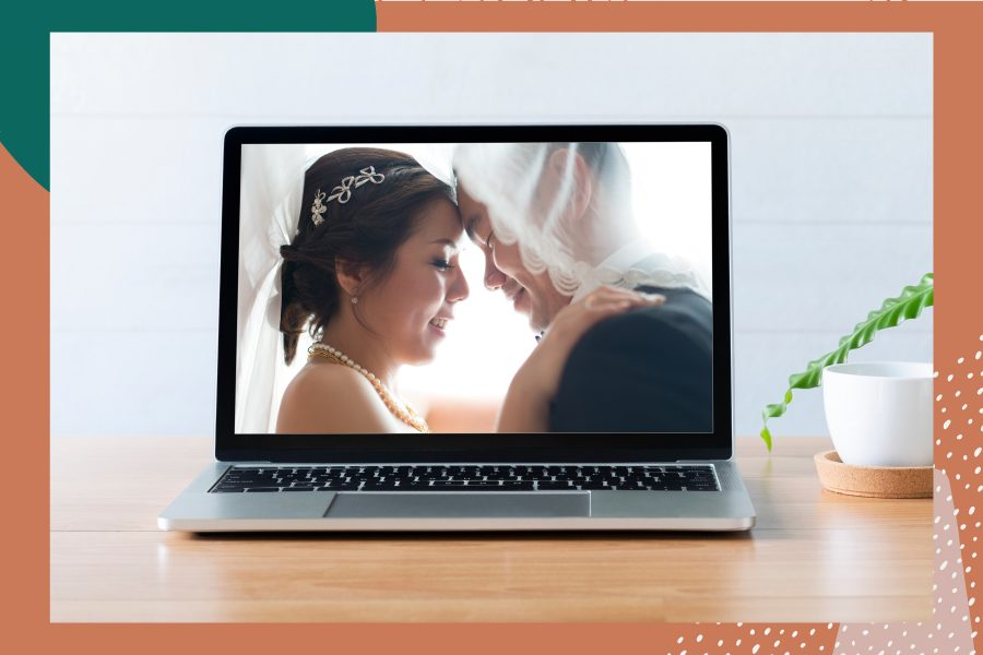 How to plan a virtual wedding