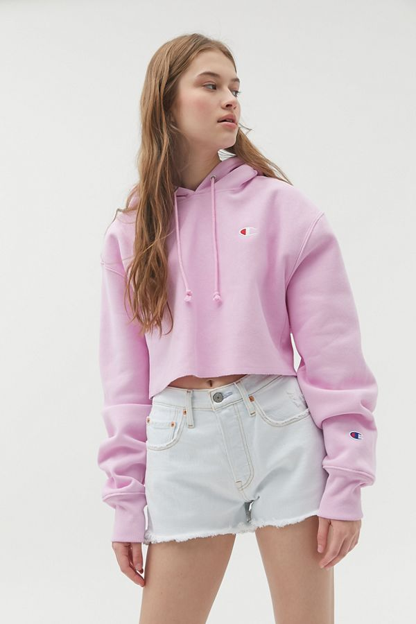 urban outfitters champion cropped sweater
