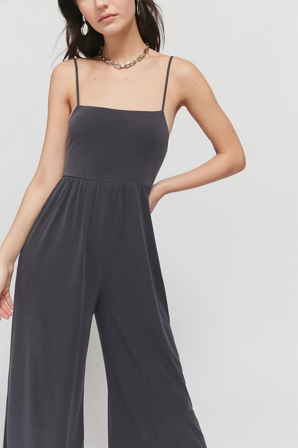 urban outfitters cozy gray jumpsuit on sale