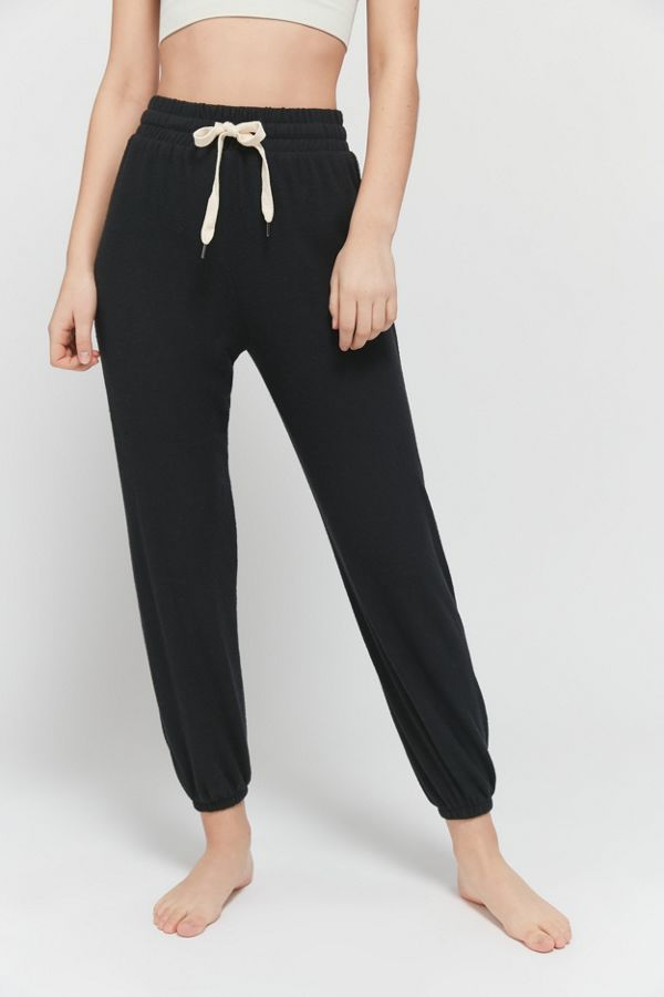 urban outfitters black joggers on sale