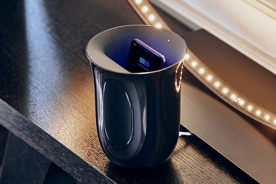 uv light phone sanitizer charger