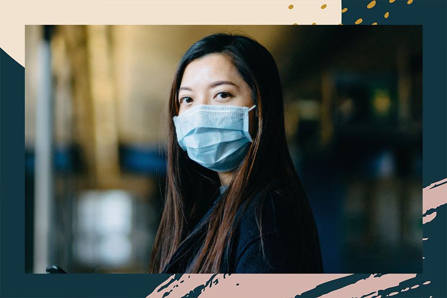 face mask skin irritation