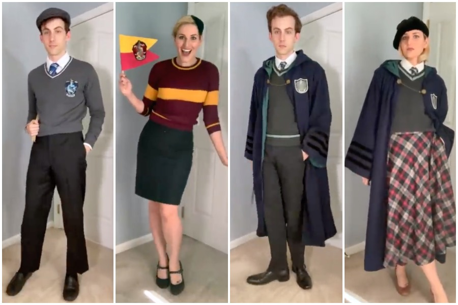 Harry Potter Hogwarts fashion