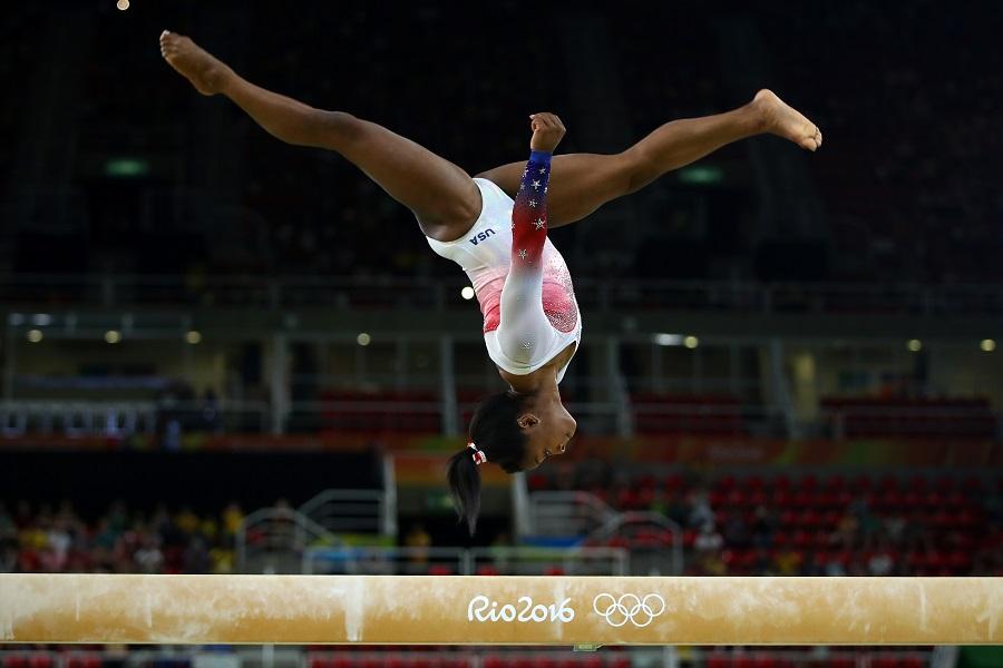simone biles at the summer olympics 2016