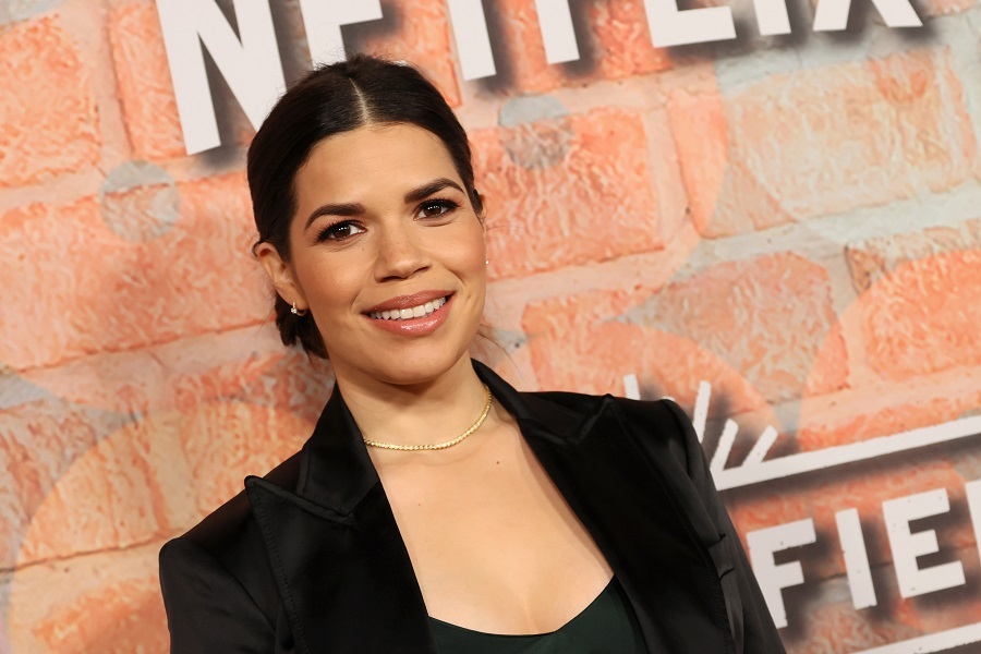 america ferrera at the premiere of gentefied