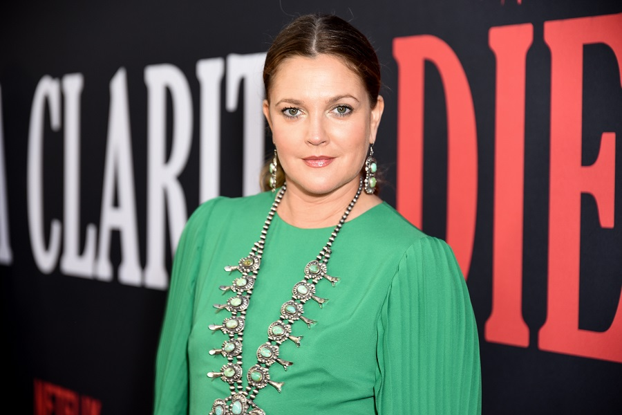 drew barrymore at the santa clarita diet premiere