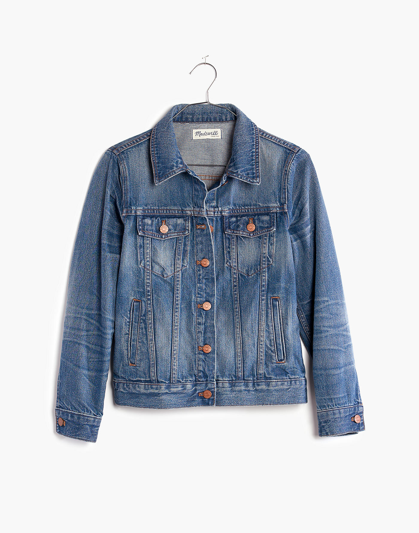 Meghan Markle madewell jean jacket