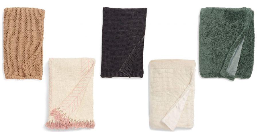 nordstrom sale throw blankets