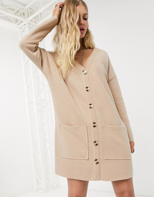 asos cardigan dress loungewear