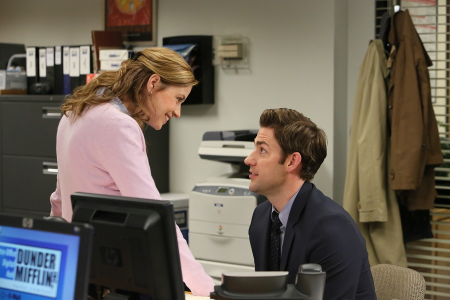 Jenna Fischer in The Office, Jim and Pam
