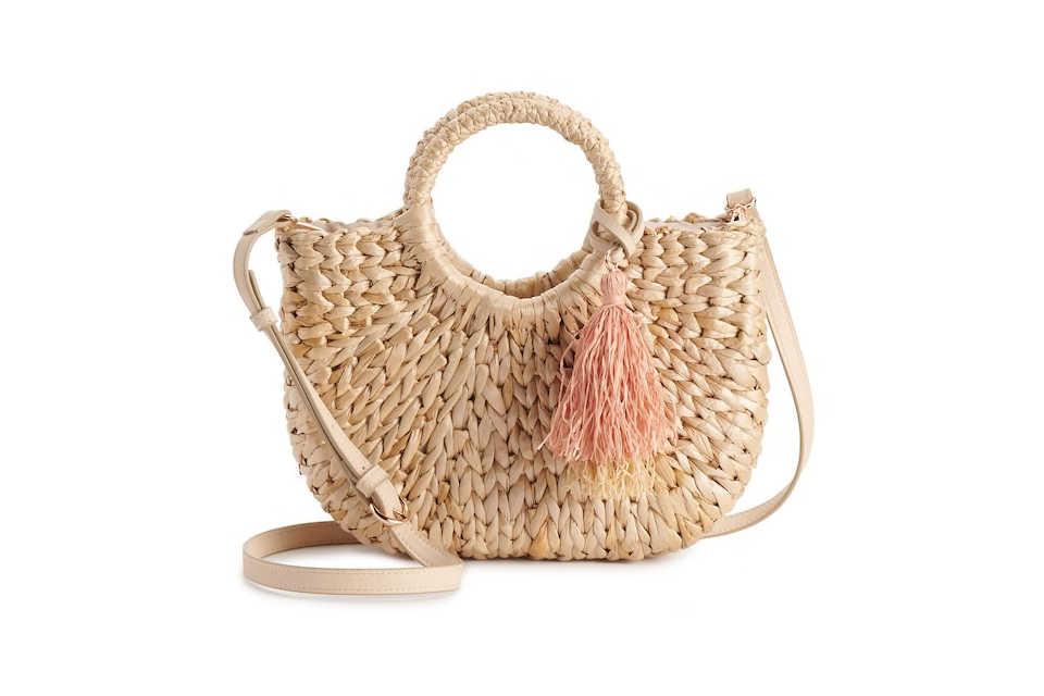 Lauren Conrad straw bag