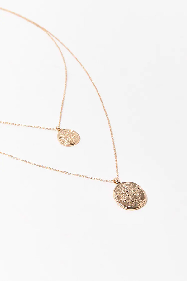 zodiac sign necklaces, layered necklaces
