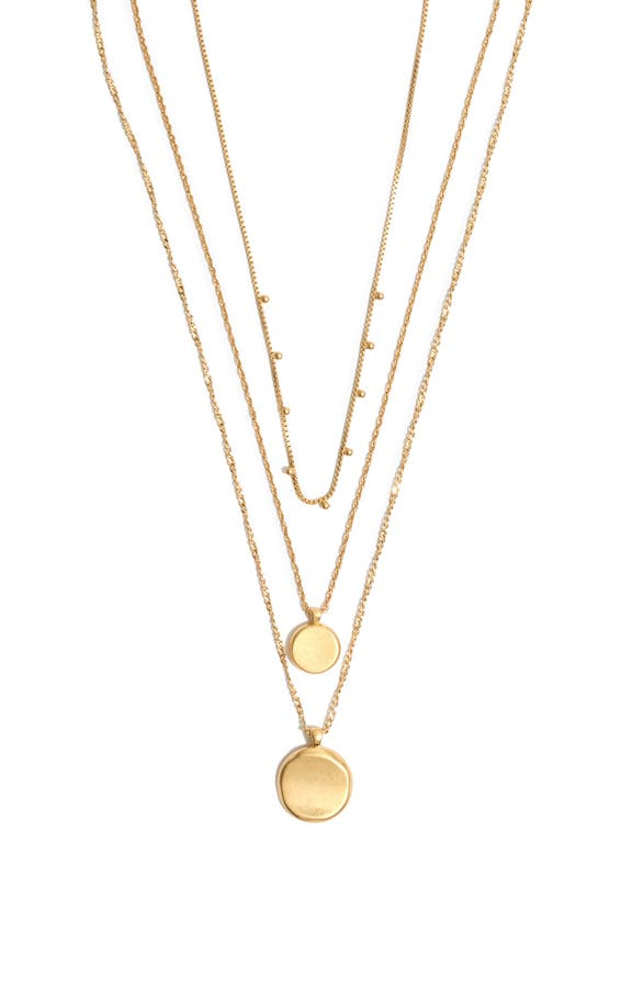 Madewell zodiac sign necklace