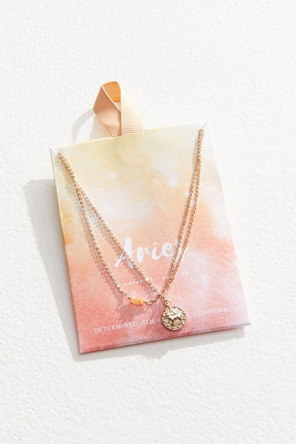 urban outfitters zodiac sign necklace
