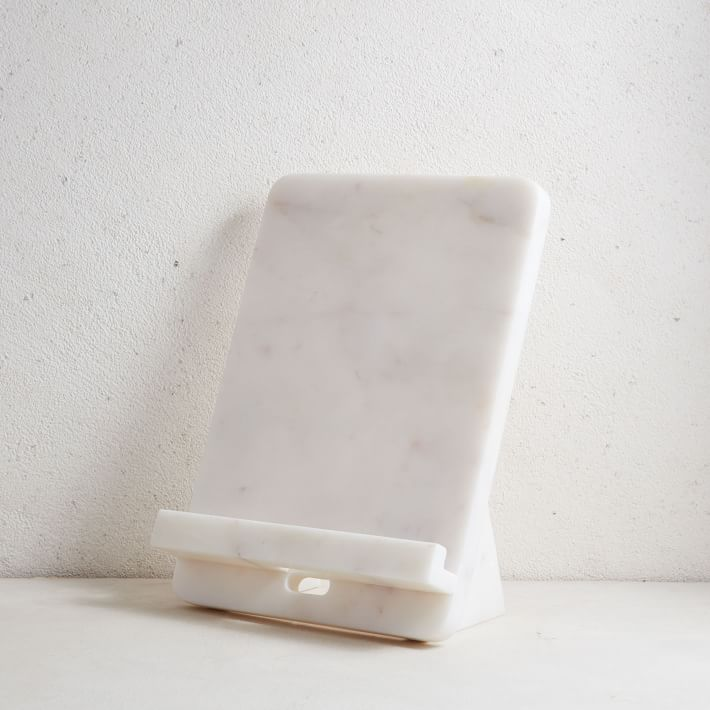 marble cookbook stand west elm, mothers day gift idea
