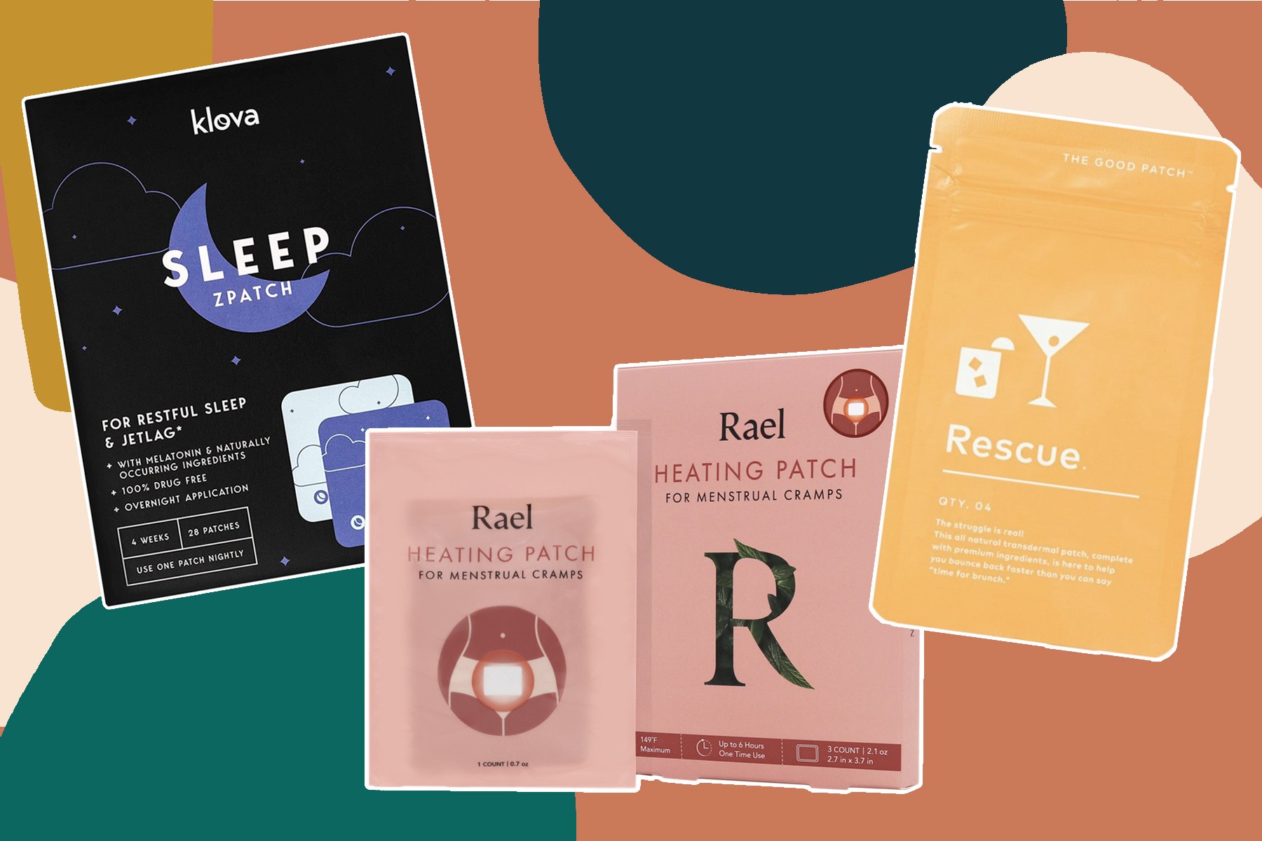 beauty patches, wellness patches
