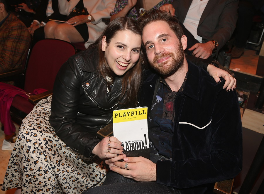 beanie feldstein and ben platt broadway