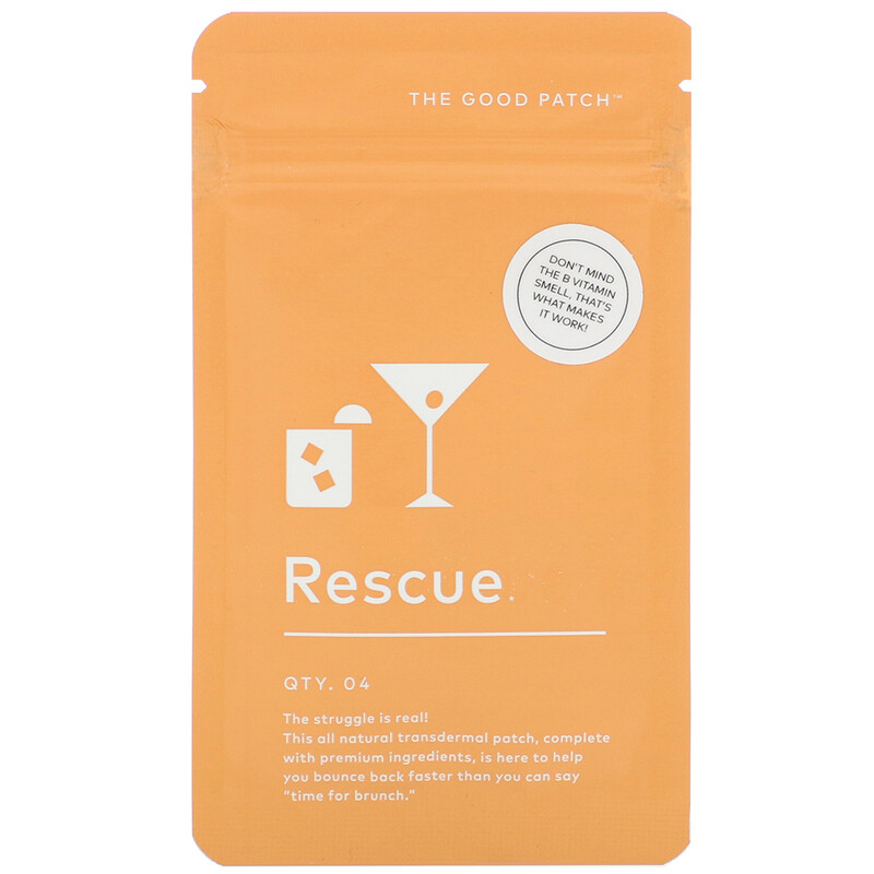 the good patch rescue, wellness patches