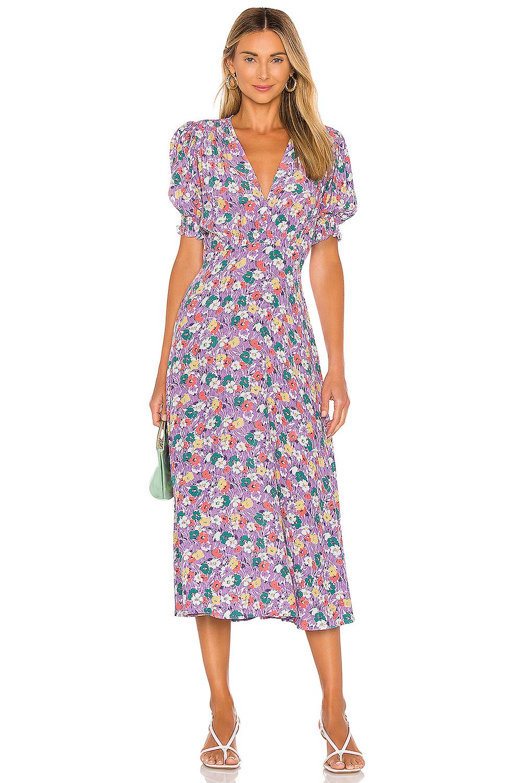 Kate Middleton floral midi dress lookalike
