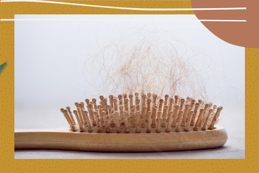 hair loss stress