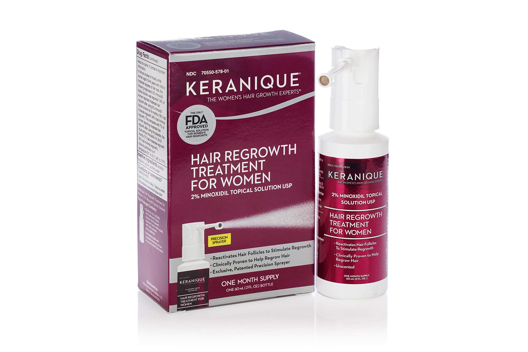 hair loss stress keranique