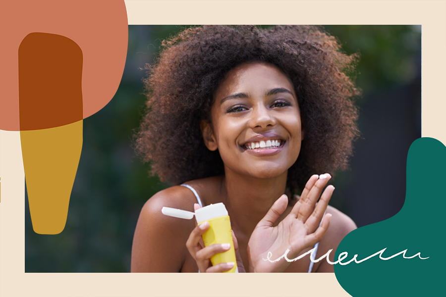 sunscreen for melanin-rich black people