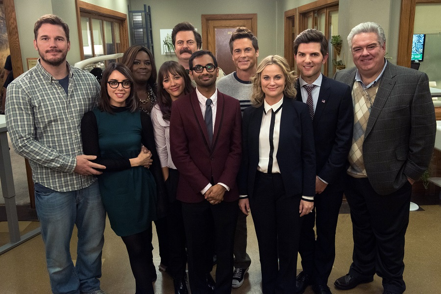 parks and recreation reunion cast