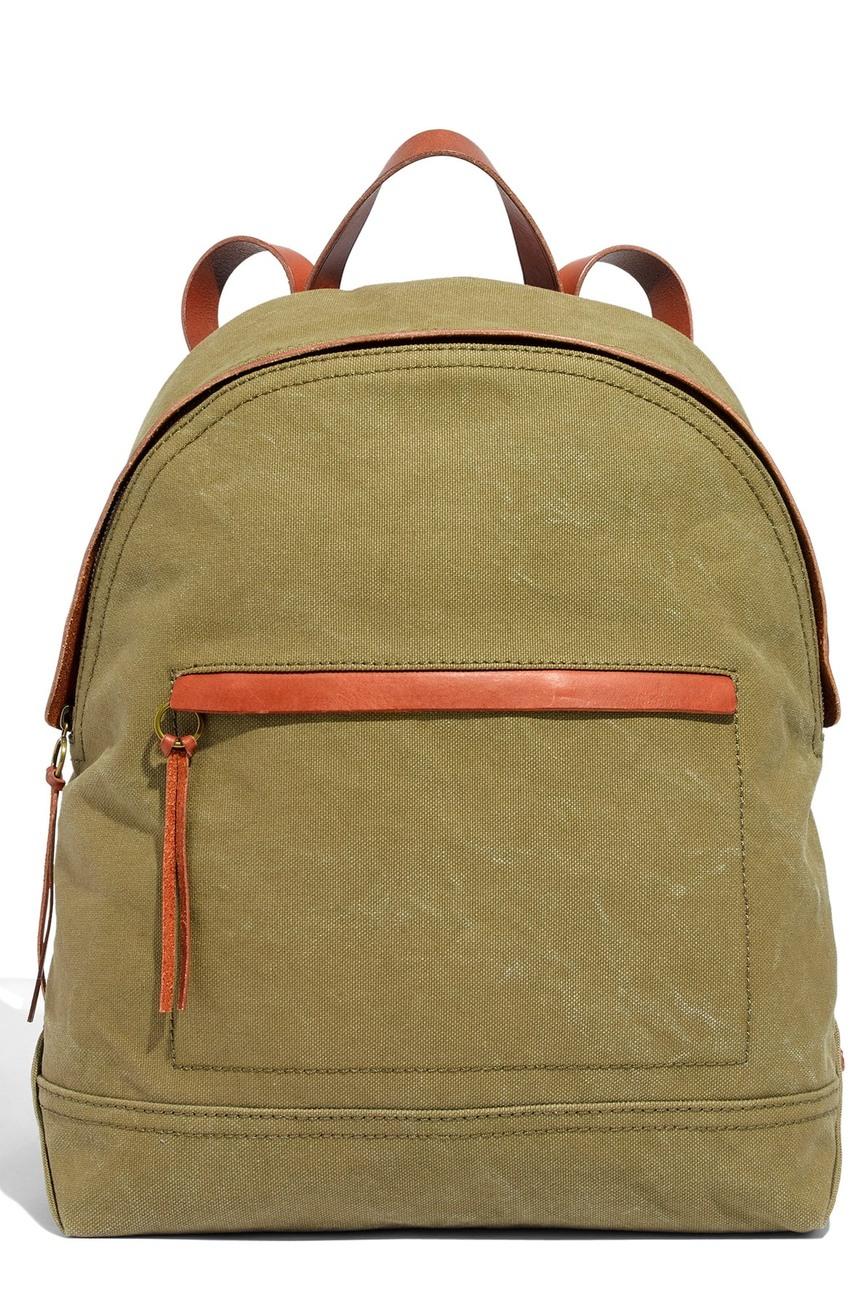 Madewell backpack Meghan Markle