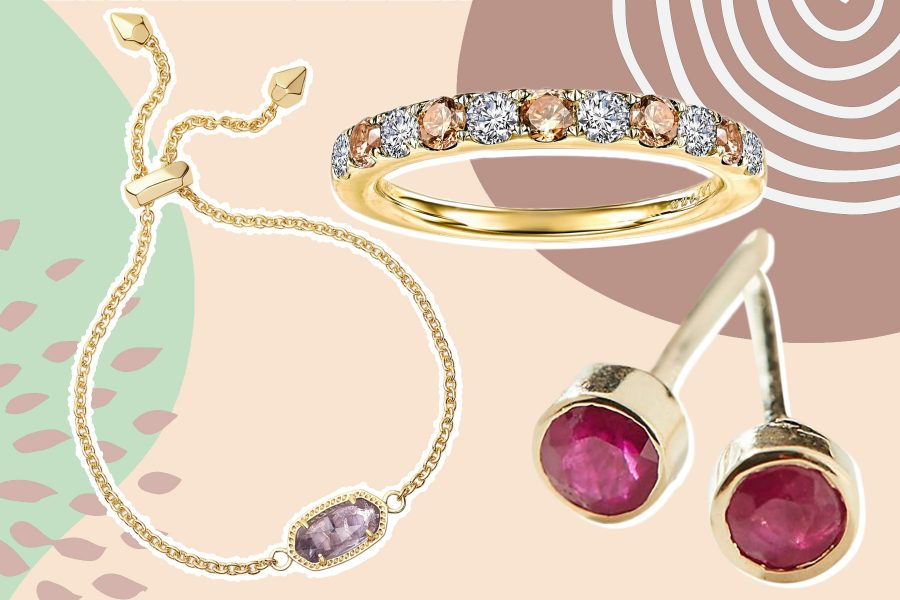 birthstone jewelry, Mother's Day gifts