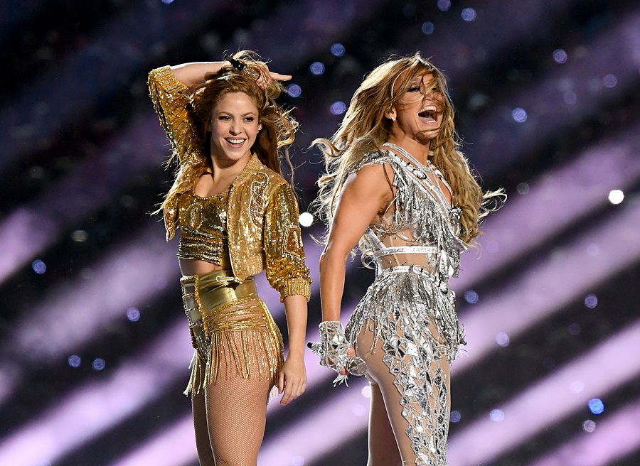 j.lo and shakira at the super bowl halftime show