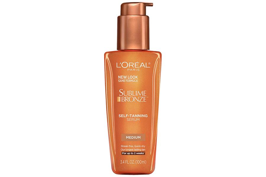 loreal sublime bronze self tanner serum, best self tanner for fair skin