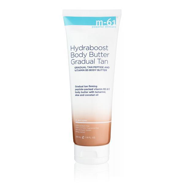 m61 body butter gradual tan, best self tanner for fair skin