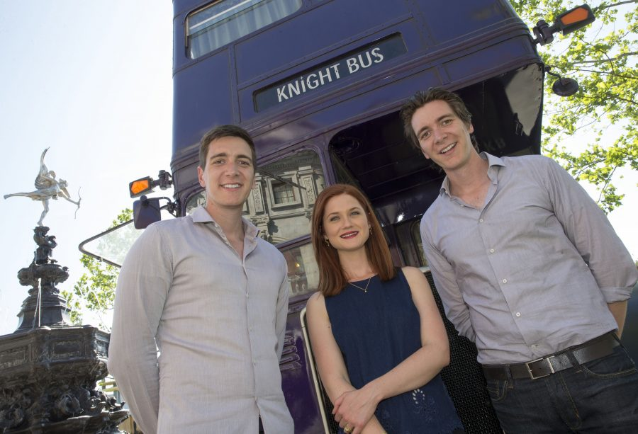 Weasley family Bonnie Wright James and Oliver Phelps