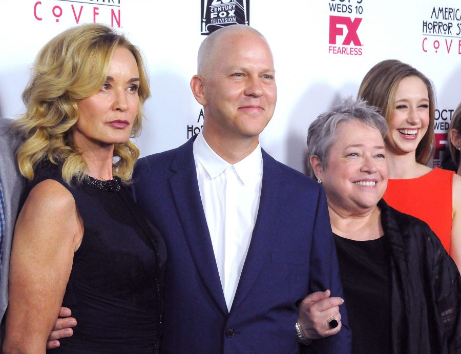 Ryan Murphy with AHS cast