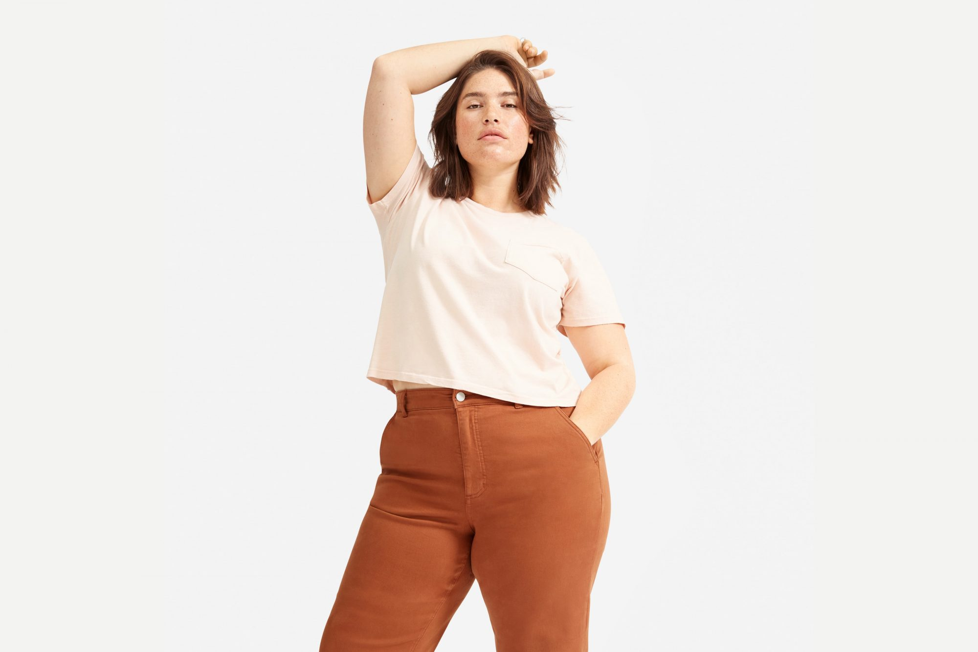 everlane choose what you pay sale t-shirt